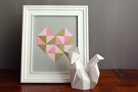small geometric heart 5
