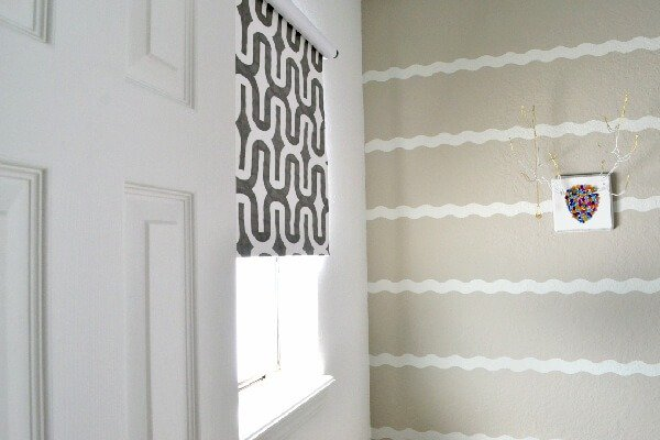 These are the easiest DIY blinds! Seriously. This tutorial is cheap, easy and guaranteed to work with any home decor!