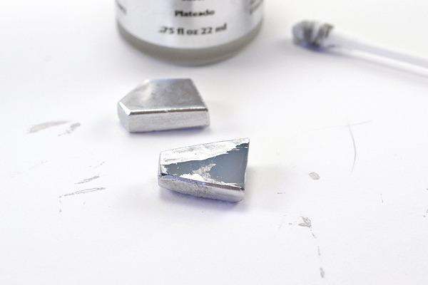 DIY Geometric Druzy Earrings - So pretty and so easy!