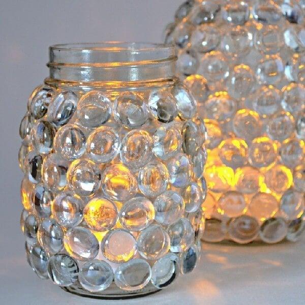 Easy Mason Jar Luminaries Dream A Little Bigger
