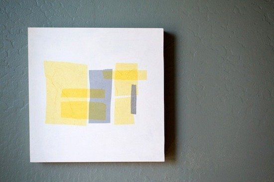 Looking for some DIY modern art ideas to fill your walls? These projects  are a