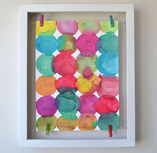 Looking for some DIY modern art ideas to fill your walls? These projects are a dream and super easy to create with some fantastic tutorials!