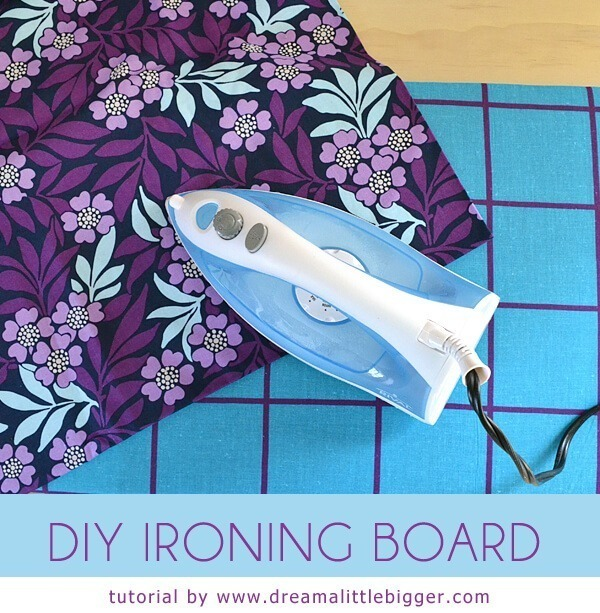 Making a DIY ironing board is simple and with a little garage or storage shed raid can be a free to cheap little project for you.