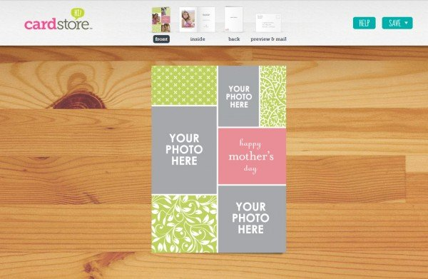 Make a Mother's Day Card the Easy Way with Cardstore (and get a discount!)