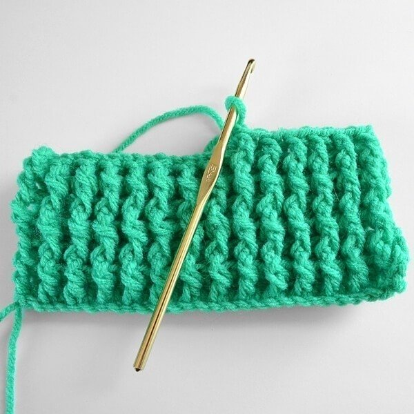 Single Rib Crochet Stitch Tutorial Dream A Little Bigger