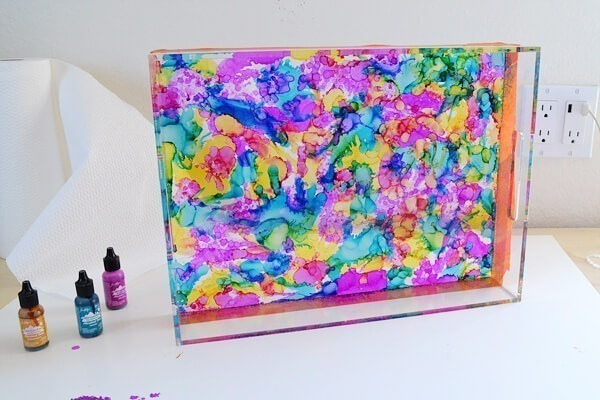 This tray is unbelievably EASY to make and so gorgeous. Want!