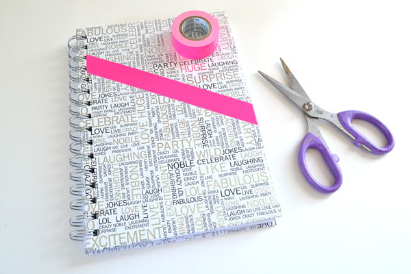 Duck Tape Pocket Notebook Tutorial