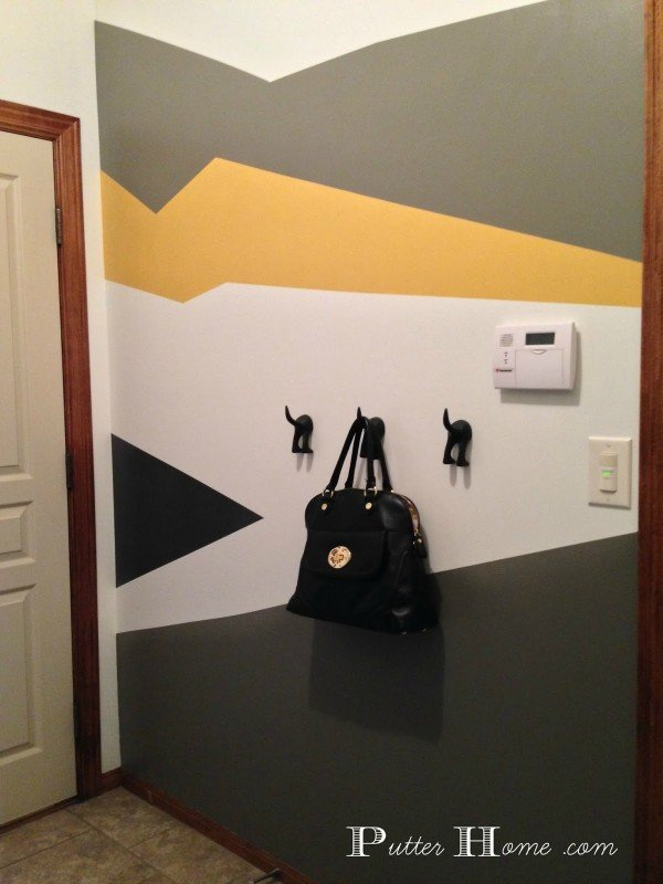 Mud Room Accent Wall