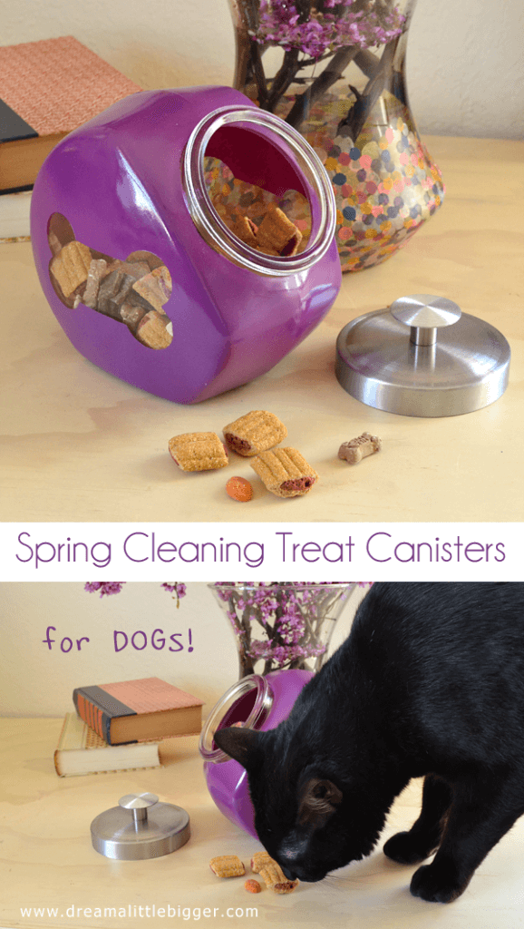 Spring Cleaning - Bright and Colorful Canisters Tutorial