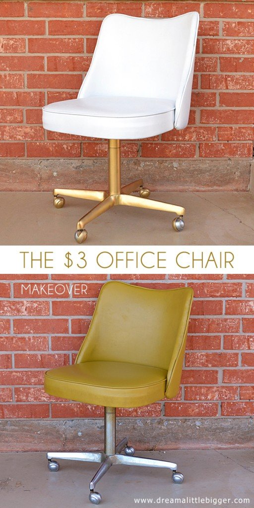 The 3 Office Chair Makeover Dream A Little Bigger