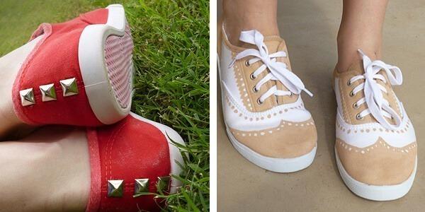 Shoe Makeovers for Sweet Kicks.