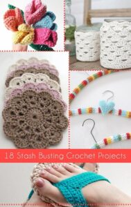 Check out this stash busting crochet round up. I hadn't seen a lot of these!