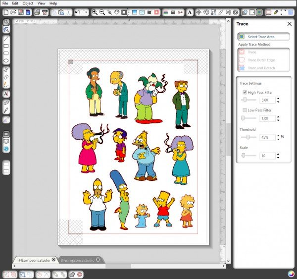 Print and cut from Silhouette studio to make amazing stickers at home!