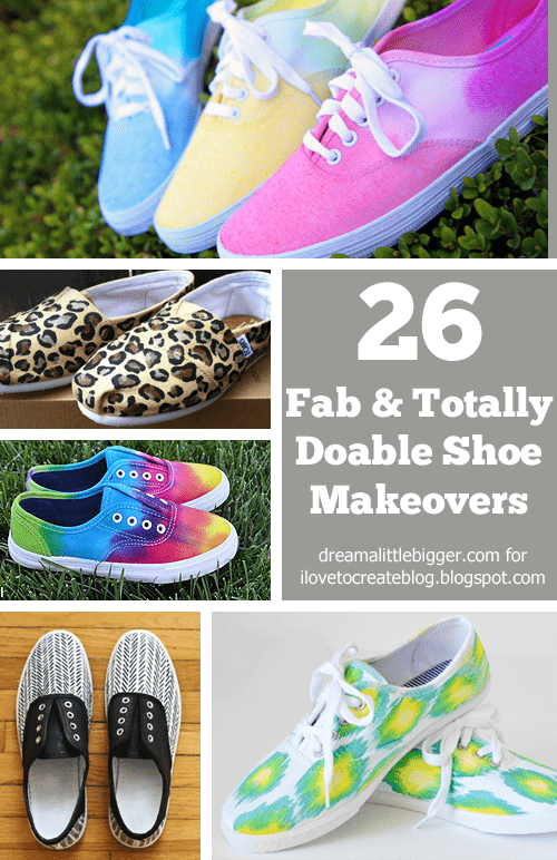 26 Fab and Totally Doable Shoe Makeovers