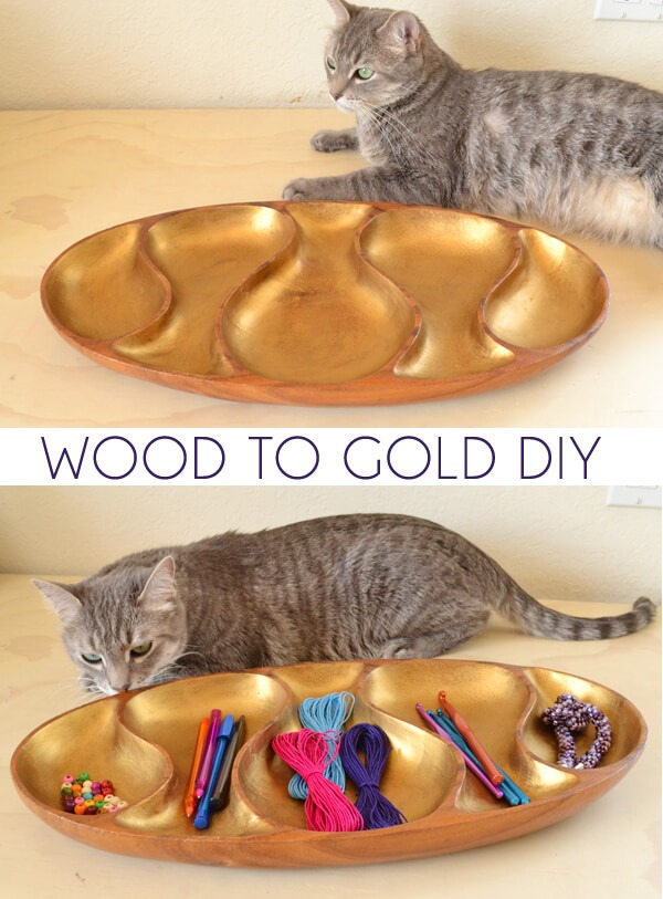 Gold is hot! See how to make anything gold in just seconds!
