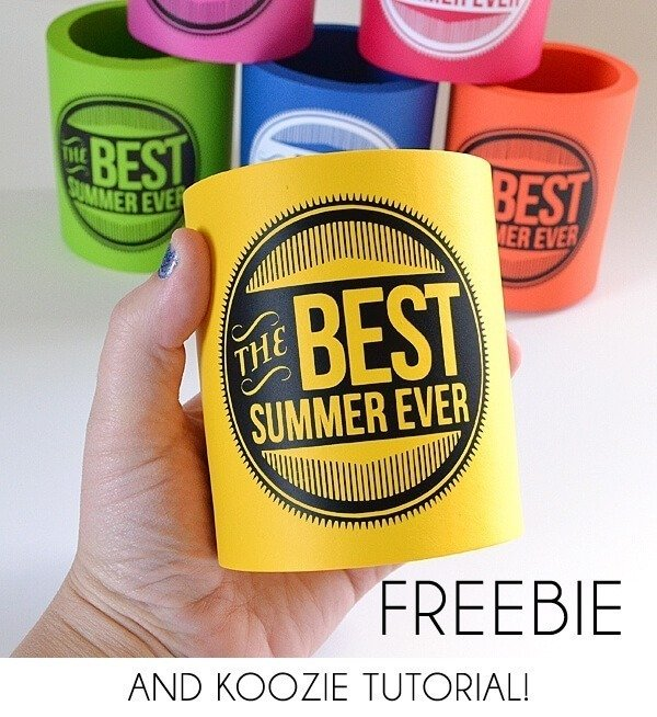 It's going to be the best summer ever! Use this freebie to proudly proclaim it!