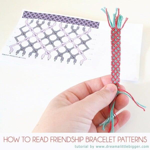 How To Read Friendship Bracelet Patterns Dream A Little