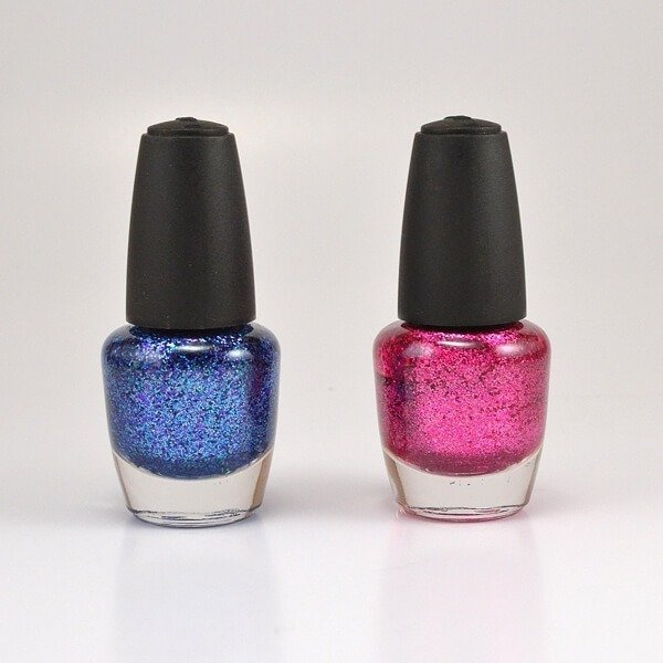 Make your own DIY glitter nail polish in any color for cheap. Seriously the BEST glitter polish I've ever tried!!!