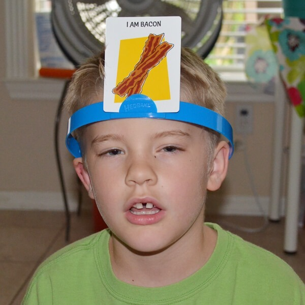 Have you ever played this game HedBandz? It's hilarious!