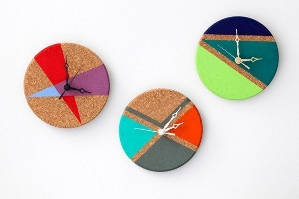 Most Fun DIY Clocks Roundup | Midsommarflicka for Dream A Little Bigger