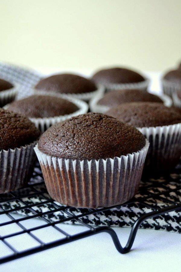 Tattooed Martha - Chocolate Porter Cupcakes with Black Cherry Frosting (8)