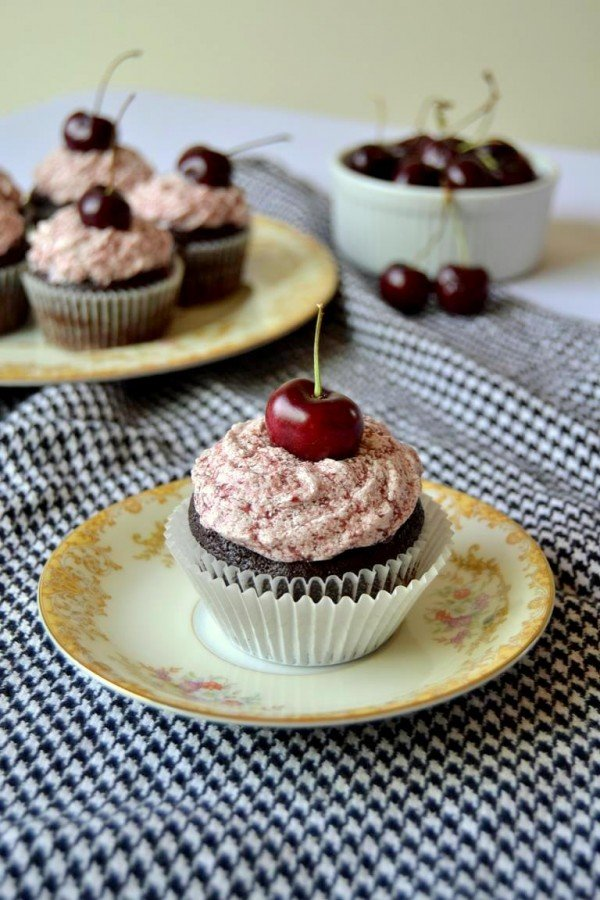 Tattooed Martha - Chocolate Porter Cupcakes with Black Cherry Frosting (9)