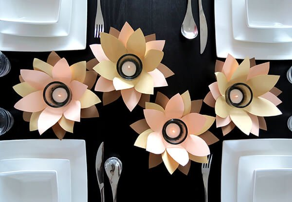 ... votives from nothing but paper and scissors with Ama from Ohoh Blog
