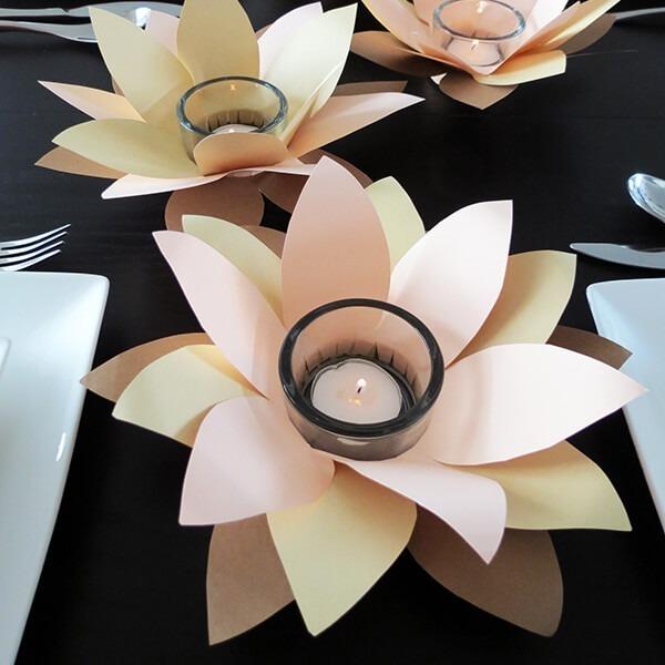 DIY Flower Votive Tutorial