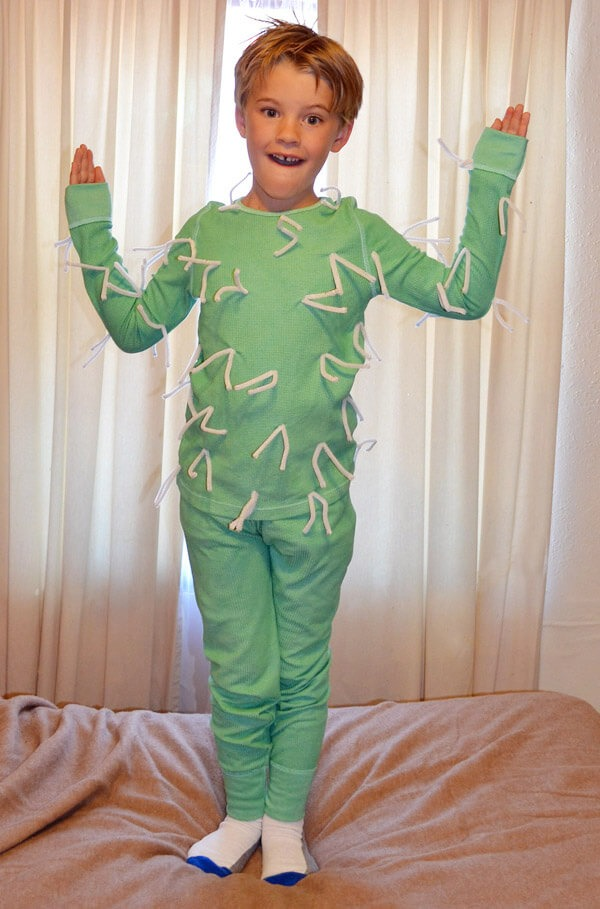 how to make a cactus costume