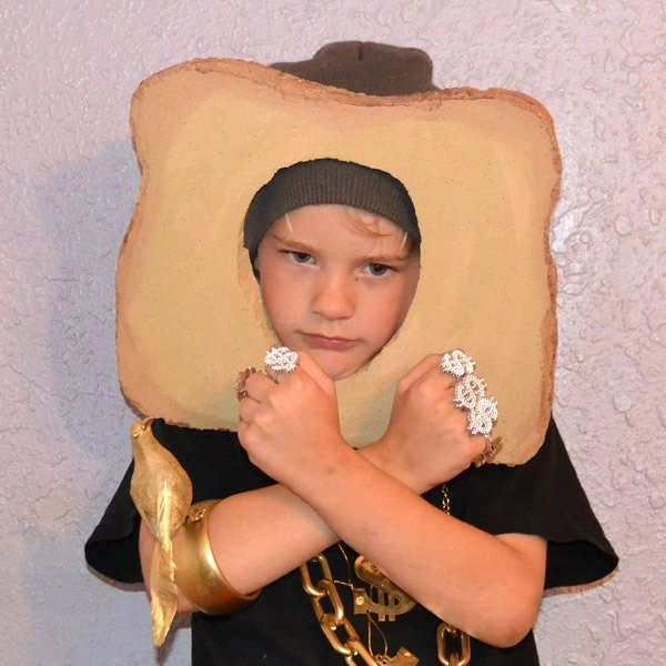 Looking for an interesting costume? Be a Toastface Killah!