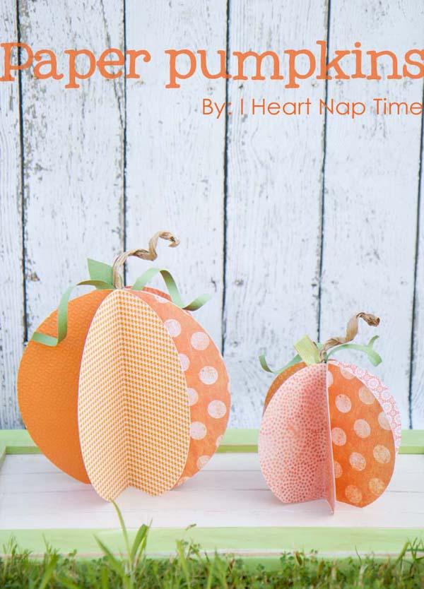DIY Pumpkin Decoration Roundup | Midsommarflicka for dreamalittlebigger.com