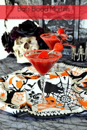 Tattooed Martha - Bat's Blood Martinis Header