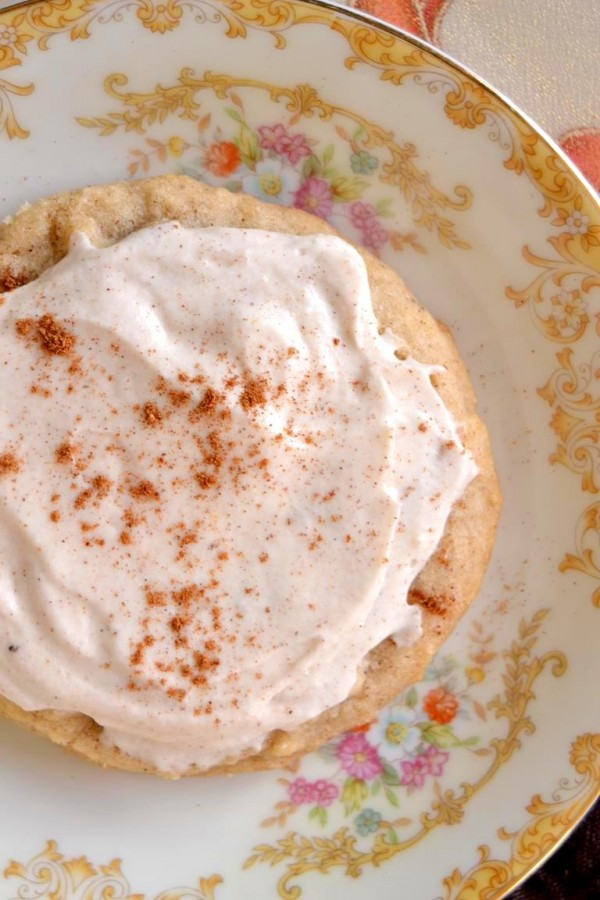 Tattooed Martha - Pumpkin Spice Sugar Cookies with Whipped Cream Frosting (5)