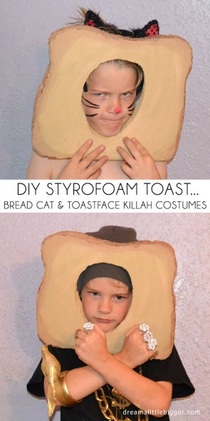 Looking for an interesting costume? Be a bread cat or Toastface Killah!