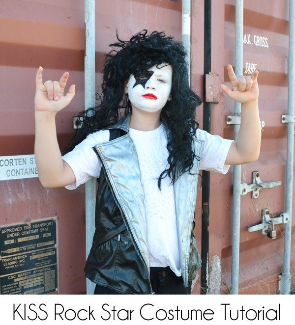 KISS Rock Star Costume Tutorial