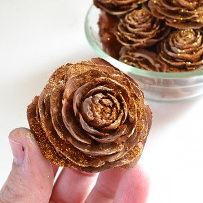 Make your own scented pine cones in any scent you choose. These are cedar roses!
