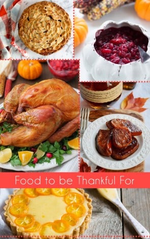 Food to be Thankful For - Thanksgiving Feast Recipes at Foodie