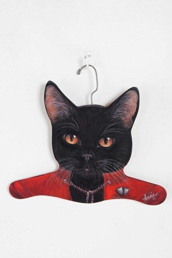 Cat Clothes Hanger - Urban Outfitters, $12.00