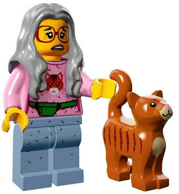 LEGO Cat Lady - Amazon.com, $13.99