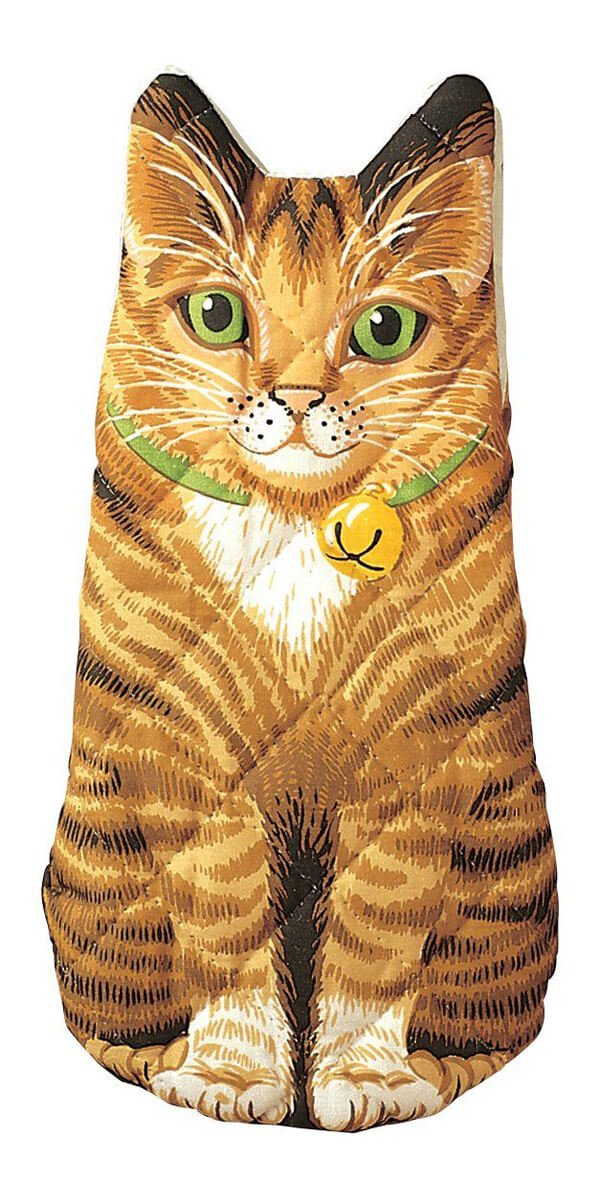 Kitten Oven Mitt - Amazon.com, $9.45