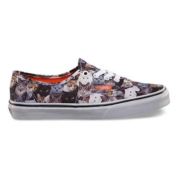 ASPCA Authentic Cat Vans - Vans.com, $55.00