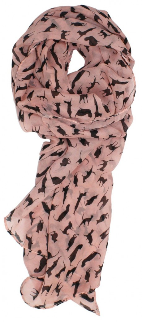 Feline Chiffon Scarf - Amazon.com, $12.99