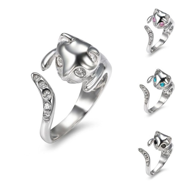 Sterling Silver Cat Ring - Amazon.com, $41.99 and less