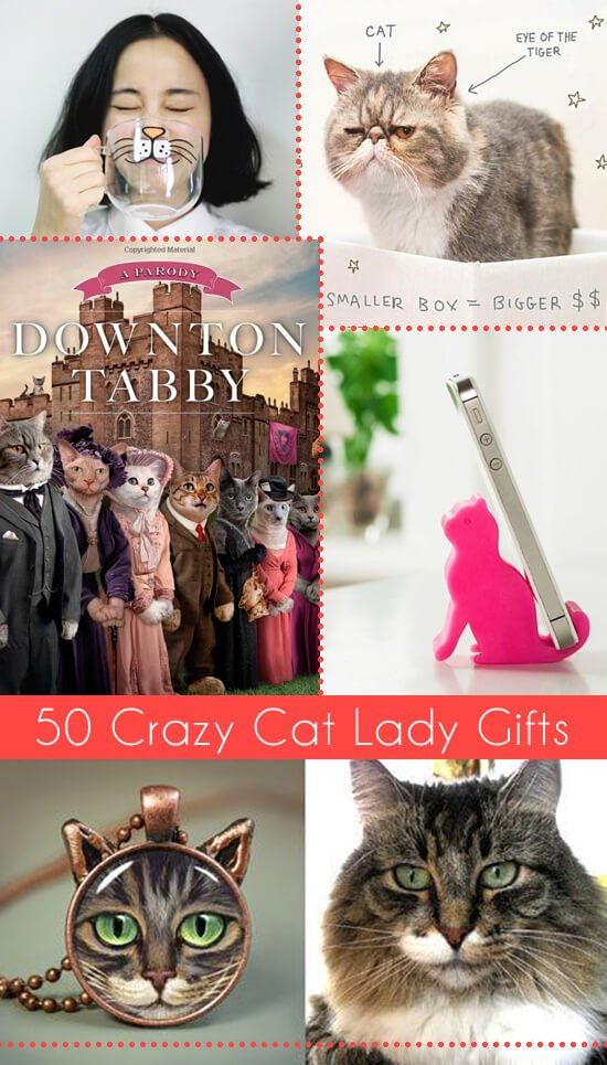 50 Crazy Cat Lady Gifts