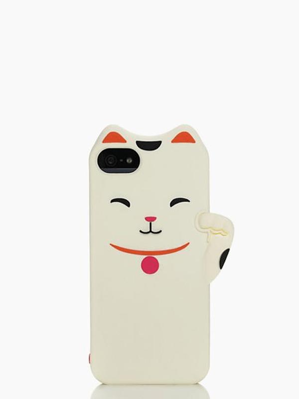 Cat iPhone 5 Case - Kate Spade, $24.00