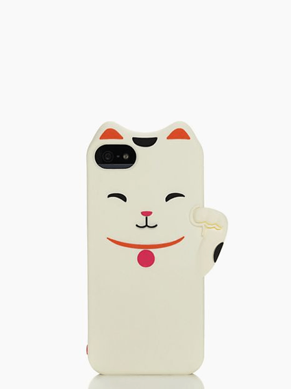 Cat iPhone 5 Case - Kate Spade, $24.00