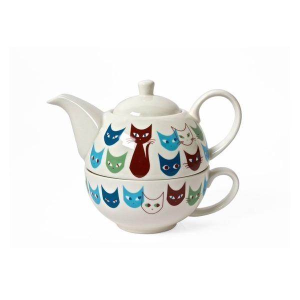 Mid Century Modern Style Cat Teapot - Amazon.com, $42.41