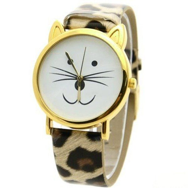 Cat Face Watch, Amazon.com $4.60