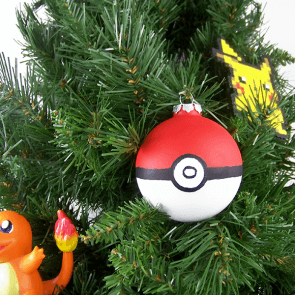 Pokeball Christmas Ornaments Tutorial!