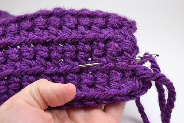 Weaving in ends isn't the end of the world. Learn how to easily get it done.
